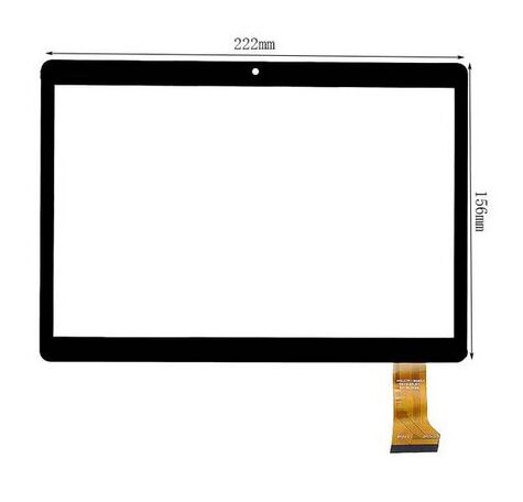 New For 9.6 FOR FLYCAT Unicum 1002 Tablet touch screen Touch panel Digitizer Glass Sensor replacement Free Shipping witblue new touch screen for flycat unicum 1002 tablet touch panel digitizer glass sensor replacement free shipping