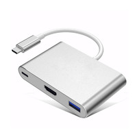 New Type C USB 3 1 To USB C 4K HDMI USB3 0 Adapter 3 In