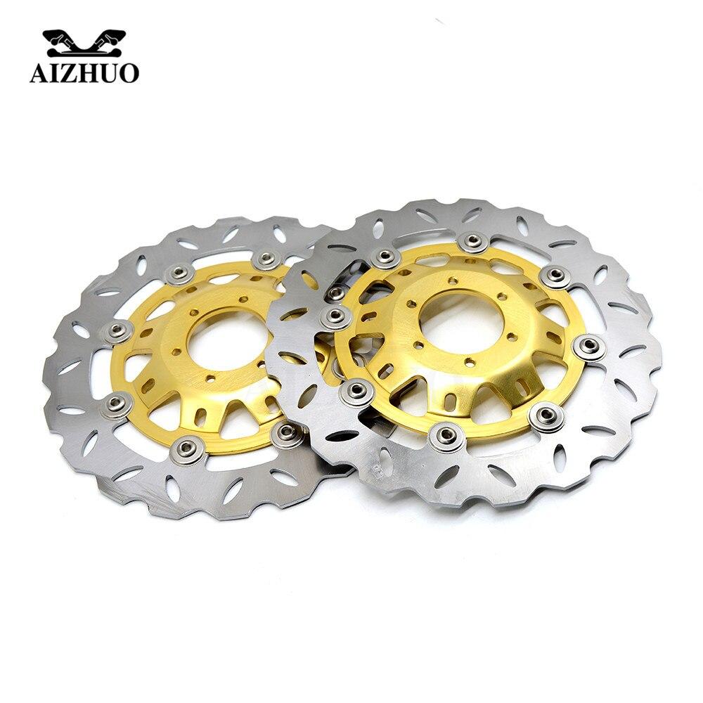 Аксессуары для мотоциклов спереди и сзади тормозные диски для HONDA CB400 VTEC400 CB 400 VTEC 400 1999 2015 2000 2001 2002 2003
