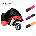 XXXL Black Waterproof Rain Anti UV Protective Breathable Motorcycle Cover Outdoor Dustproof Sctoor Motor Bike Vehicle Cover