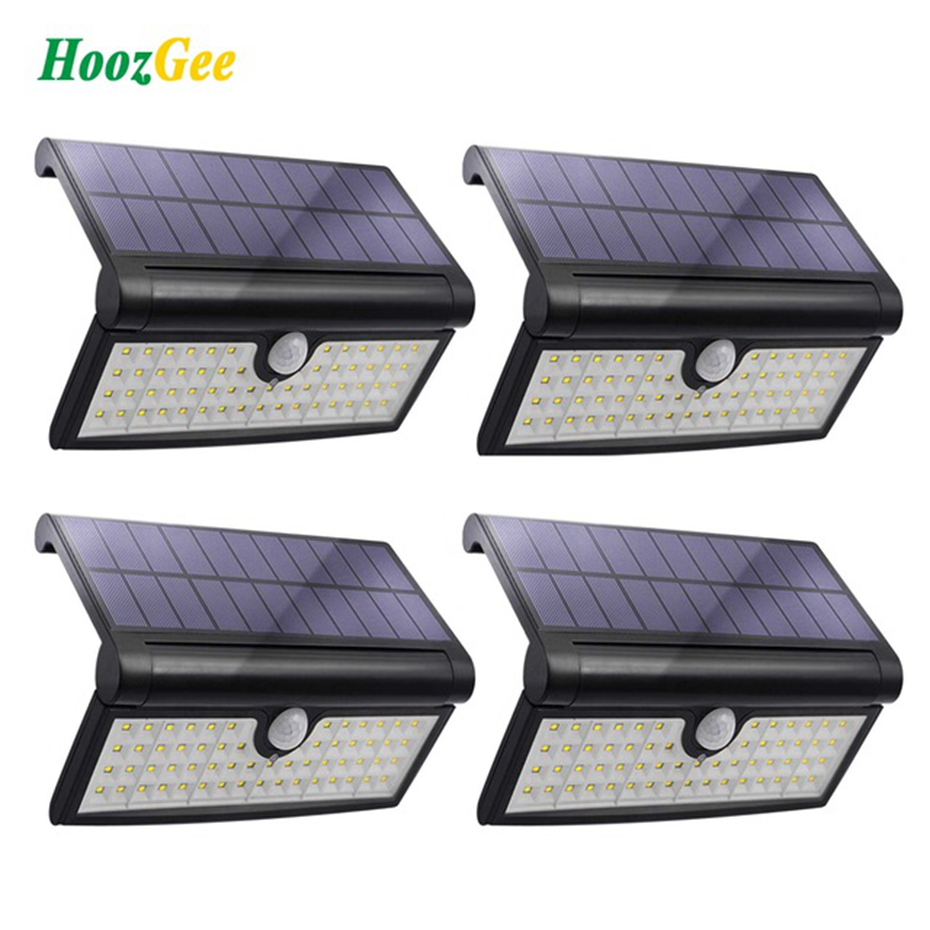 Test Solar Verlichting Us 22 39 30 Off Hoozgee Solar Lights Outdoor Garden 58 Led Super Bright Motion Sensor Wall Light Security Lamp With Wide Lighting Area For Patio In