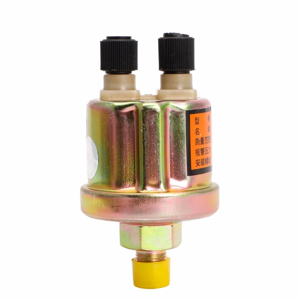 Alta qualidade sensor de pressão óleo do motor calibre sender switch envio unidade 1/8 npt 80x40mm sensores pressão carro