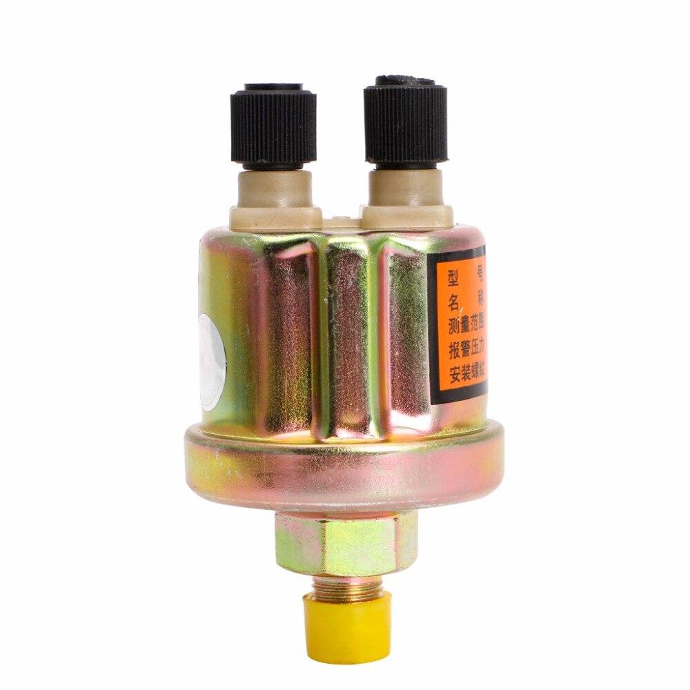 Capteur de pression d'huile moteur de haute qualité jauge interrupteur émetteur unité d'envoi 1/8 NPT 80x40mm capteurs de pression de voiture