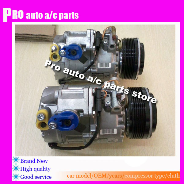 AC Compressor /& A//C Clutch For BMW X5 2007 2008 2009 2010 2011 2012 2013