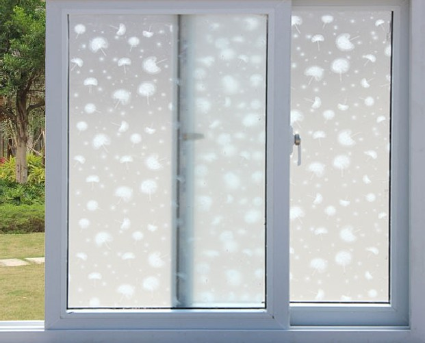 PVC Waterproof Window Film Glass Sticker Home Bedroom Bathroom Privacy Frosted Frost Cover 45/65/85x200cm bh01 image