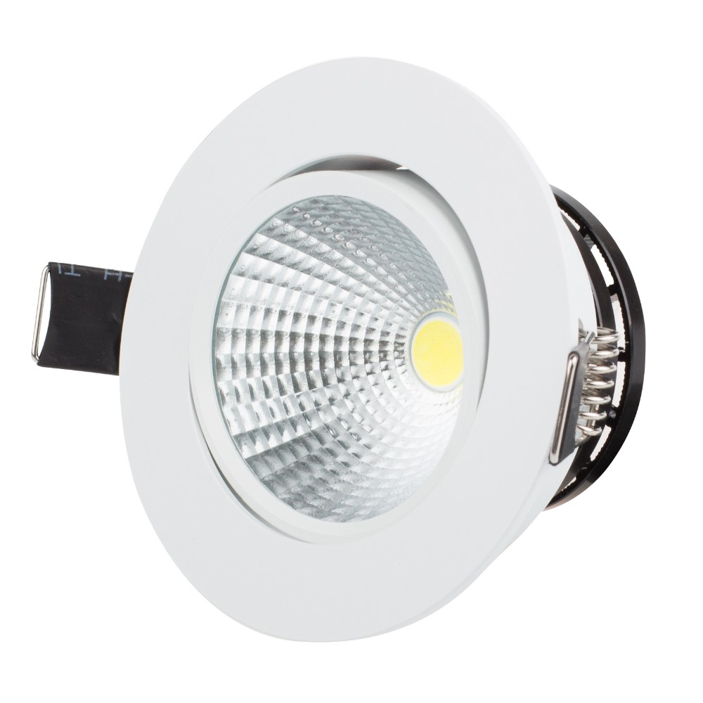 Led Spot Us 4 64 25 Off Led Downlight Spot Led Super Bright Recessed Led Dimmable Downlight Cob 3w 5w 7w Led Spot Light Ceiling Lamp In Downlights From