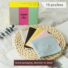 10 pcs/lots High quality Chamois Glasses Cleaner 150*180mm Cotton Cleaning Cloth For Lens Phone Screen Clothes