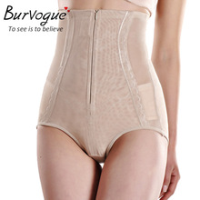 Burvogue Clip&Zip High Waist / Butt Shaper / Tummy Control Girdle