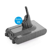 High Quality 4000mAh 21.6V Li ion BATTOOL Vacuum Cleaner Rechargeable Battery For Dyson V8 Absolute V8 Animal