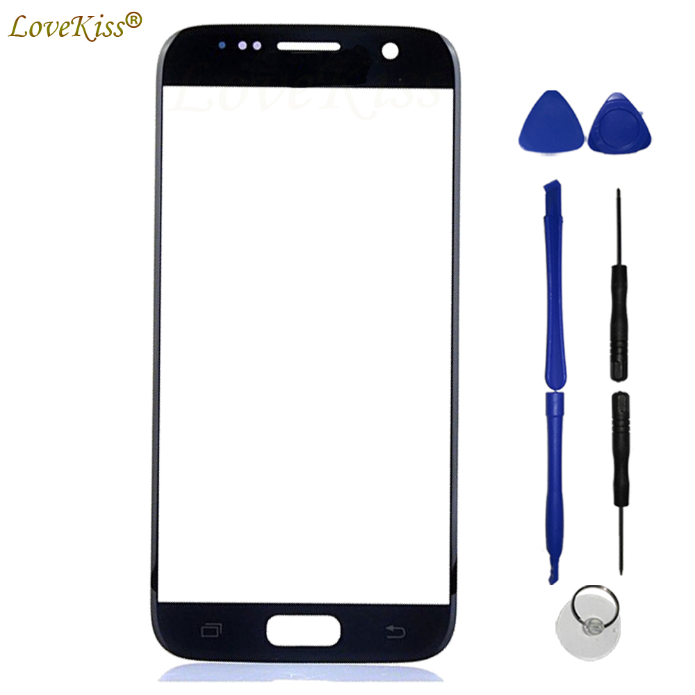 S7 Front Panel For Samsung Galaxy S7 SM-G930F G930FD Note 5 Touch Screen Sensor LCD Display Digitizer Glass Cover TP Replacement