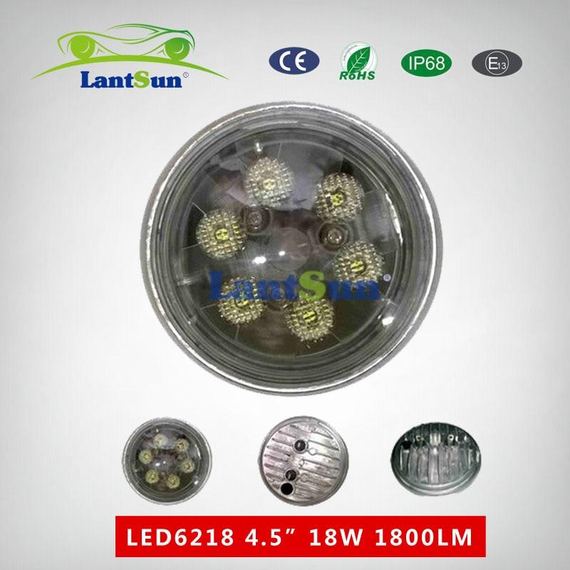2 piezas 4.5inch ronda 18w luz de trabajo led para tractor John Deere - Luces del coche