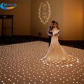 12x12ft White Led Dance Floor Star Light Make dmx Led Dance Floor