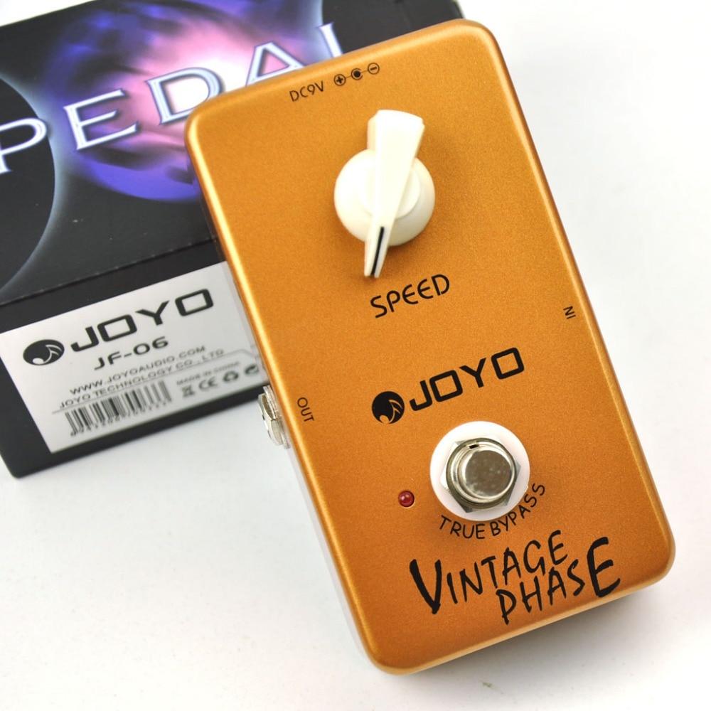 JF-06 Vintage Phase Guitar Effect Pedál
