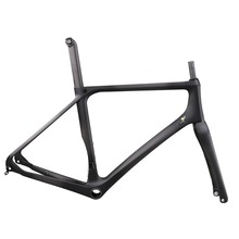 ICAN carbon T700 road disc frame BB386 flat mount front 100X12 rear 135X9 or 142X12 road bike frame