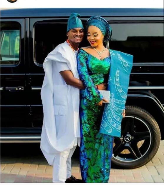 2019 último Cordón de guipur africano de alta calidad con tejido de lentejuelas grandes en verde para mujeres nigerianas hombres fiesta vestido-in encaje from Hogar y Mascotas    1