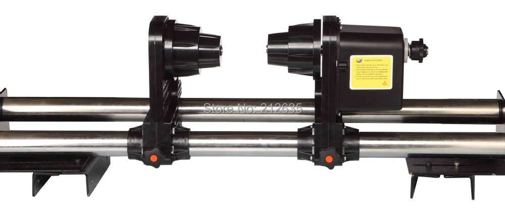 Auto printer take up system single Motors Take up Reel System Paper Collector for for Roland SJ/FJ/SC 540/641/740,VP540 roland rs 640 sj 540 fj 540 xj 540 l bearing rail block ssr15xw1uu 2320ly