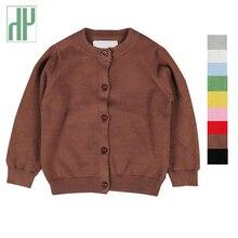 HH Enfants vestes Printemps hiver Filles Cardigans tricot à manches longues Casual bébé Filles vestes manteau pour garçons Enfants Survêtement