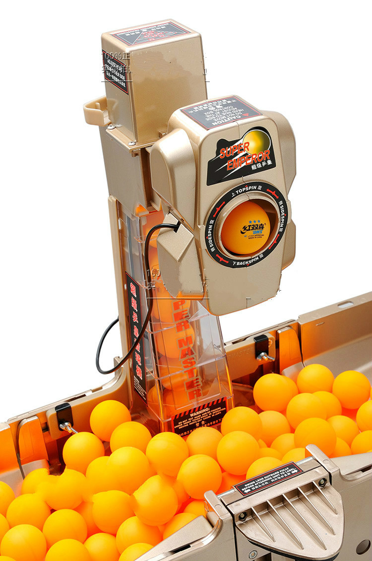 New Table Tennis Serve Machine Ping Pong Robot Automatic