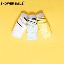 SHOWERSMILE Sunny And Rainy Umbrella Mini Pocket Woman Uv Small Ladies Parapluie Female Fashion Folding