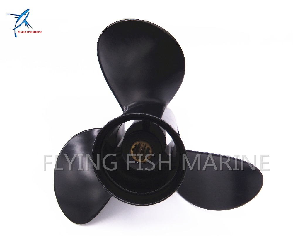 все цены на 9.9x13 Outboard Motor propeller for Tohatsu / Nissan 25hp 30hp Motor Engine 9.9 x 13