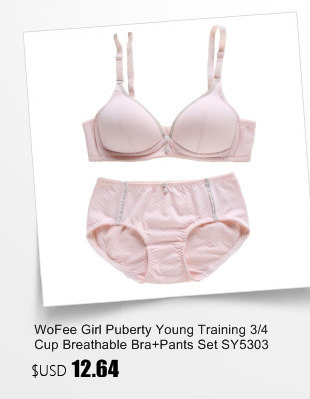 bd7a811bc2 Wofee Latest Training Bras For Kids And Matching Pants Underwear ...