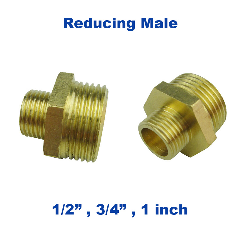 """1//2/"""" 3//4/"""" 1inch Threaded Pipe Joint Union Elbow Fittings Female x Male Brass"""