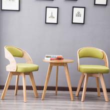 Z litego drewna stoły i krzesła balkonowe trzyczęściowy stolik kombinacją rozrywka krzesło dziedziniec stoły i krzesła tanie tanio suvtoper 4688 Nowoczesne Chair H88*W48cm Desk H58*W50cm Drewniane 800mm Huzhou City Minimalistyczny nowoczesny Jadalnia meble pokojowe
