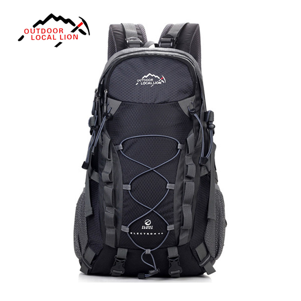 Outdoor Sport Bag LOCAL LION 40L Backpacks Travel Bag Men Waterproof Rucksack Backpack Women Backpack Bags outdoor sport bag local lion 35l waterproof rucksack bags women space bag climbing men travel camouflage laptop backpack mochila