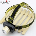 YUPARD Cree Q5 Headlamp LED Headlight Built-in Lithium Battery Waterproof Rechargeable Head lamps 3 Modes Zoomable Torch