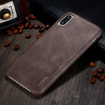 X-Level Leather Case For iPhone X XS Max Original Luxury Ultra Light Business Retro Phone Cover For iPhone XR Case