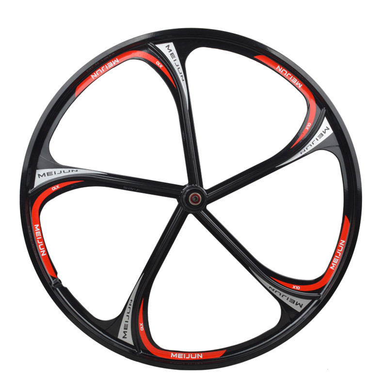 Miejan 26 inch bicycle wheel mountain bike magnesium alloy wheel bearing  disc brake wheels