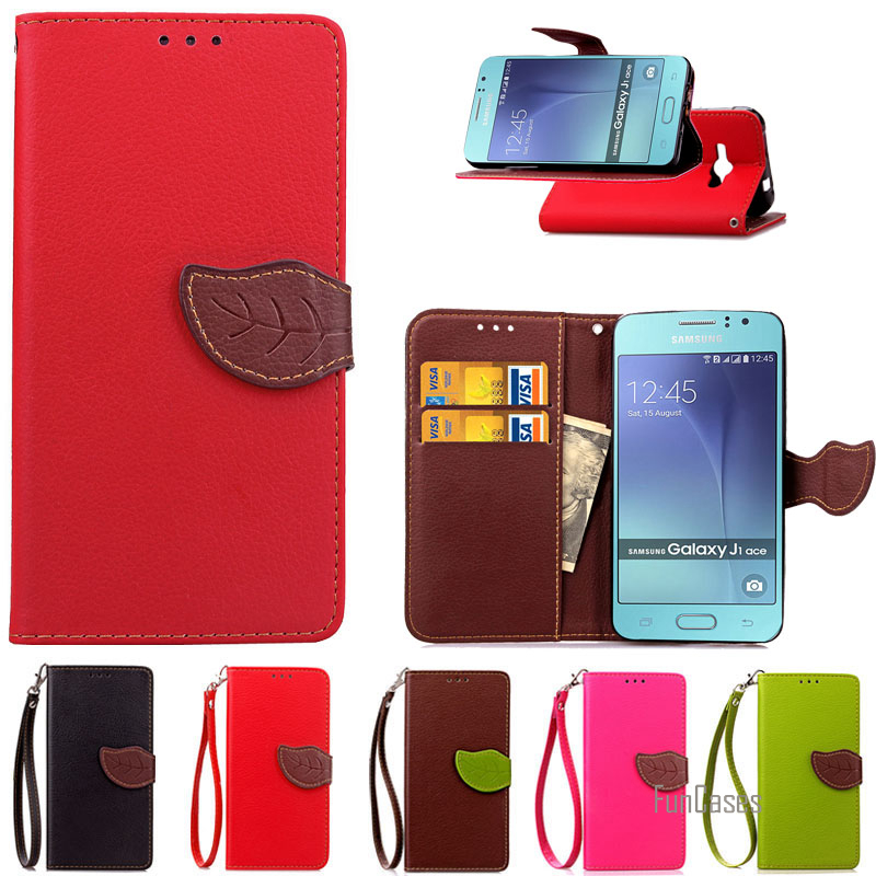 Wallet Leather Case For Samsung Galaxy J1 Ace J110 Phone Bag Coque Stand Luxury Flip Cover For Samsung J1 Ace Phone Back Cover ,