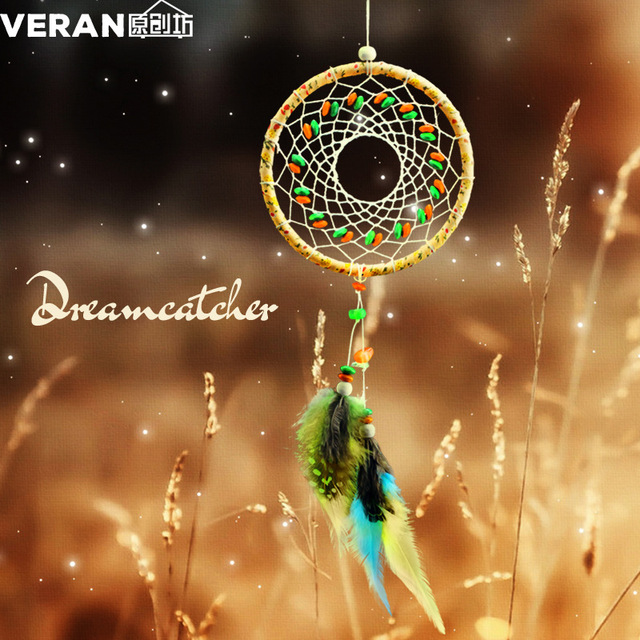 Handmade North America Indian Dreamcatcher Real Feather Dream Extraordinary Is Dream Catcher Real