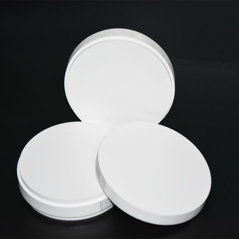 1 Pieces OD98*18mm~25mm HT ST Dental Zirconia Block Zirconium Ceramic Blocks For Milling System To Make Porcelain Teeth