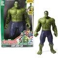 30 cm figuras de acción juguetes hulk/hulkbuster muñecas hero marvel los vengadores hulk juguete de sonido para niños caja de regalo figura embalaje