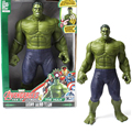 30cm Action Figures Toys Hulk/Hulkbuster Dolls Hero Toy Sound Hulk Marvel Avengers Assemble For Boys Gift Box Packing Figure