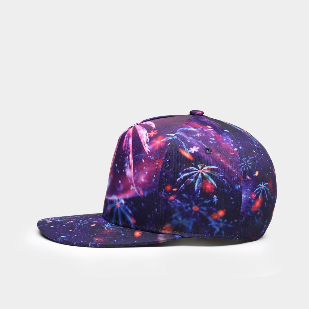 NUZADA Kwaliteit 3D-afdrukken Dames Heren Baseballcap Neutraal paar - Kledingaccessoires - Foto 3