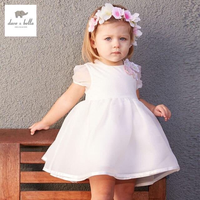 f7186951a6f DB3413 dave bella summer baby girl princess dress baby wedding dress kids  birthday clothes dress girls costumes