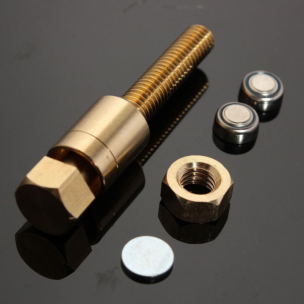 Neue Zauberrequisiten Ultimative Autorotation Rotierende Mutter Off Bolt Screw Close Up Erstaunliche Magie Gimmick Trick Kind Kind Puzzle Spielzeug