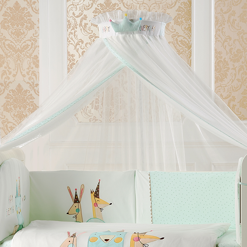 Adjustable Baby Beds Mosquito Nets Holder Child Infant Mosquito Netting Cover General Purpose Canopy Palace Style Portable TentsAdjustable Baby Beds Mosquito Nets Holder Child Infant Mosquito Netting Cover General Purpose Canopy Palace Style Portable Tents