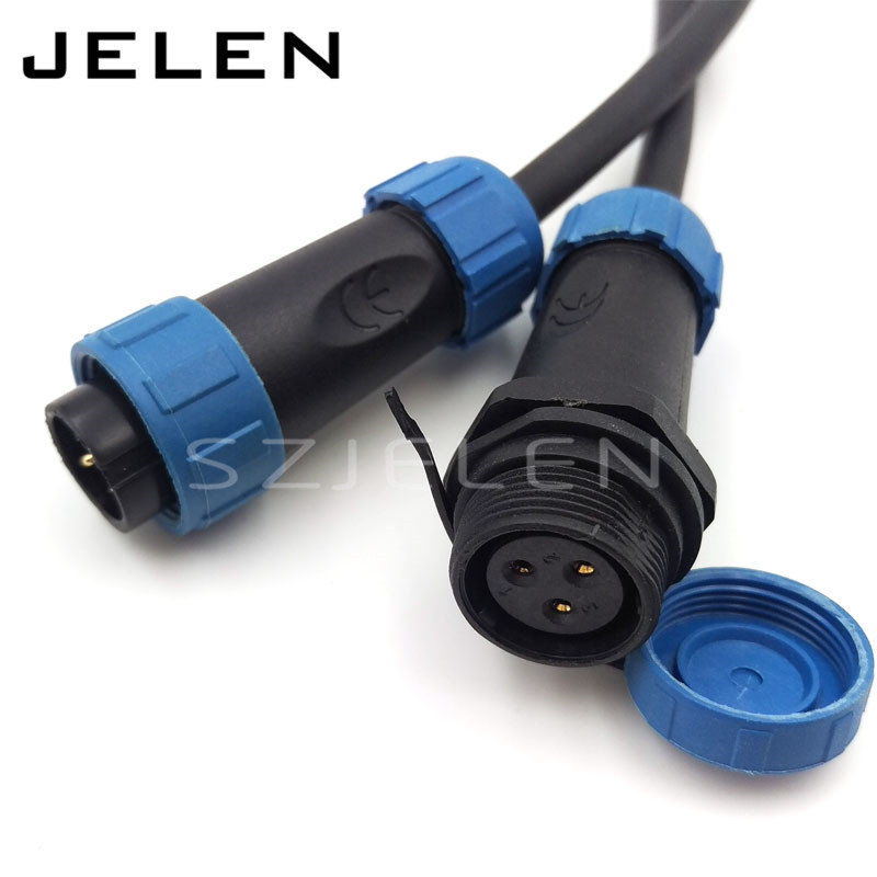 online get cheap 3 pin socket wiring aliexpress com alibaba group sy1710 sy1711 3 pin waterproof power connector 3 pin wire connector plug socket