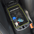 Para jeep renegado 2015-2017 recipiente de armazenamento caixa de apoio de braço central titular bandeja organizador carro acessórios carro styling