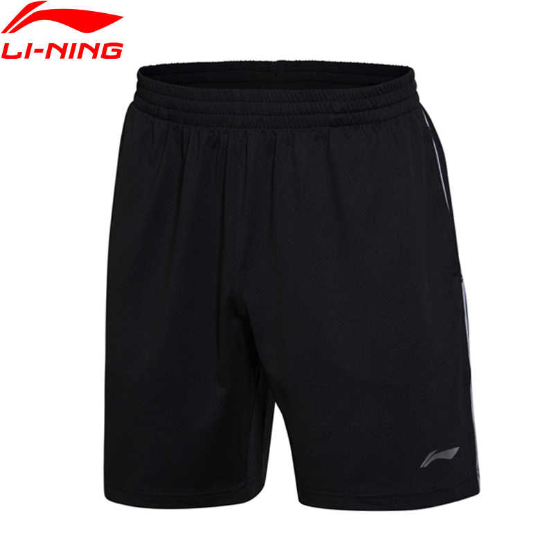 Li-Ning Men Badminton Shorts Competition Bottom AT DRY Fitness Comfort Breathable LiNing Sports Shorts AAPM145