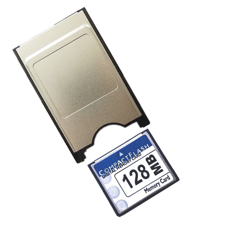 Hot!!! 128MB 256MB 512MB 1GB 2GB  CompactFlash Card CF Memory Card +PCMCIA Adapter Type II & Type I For Car MP3