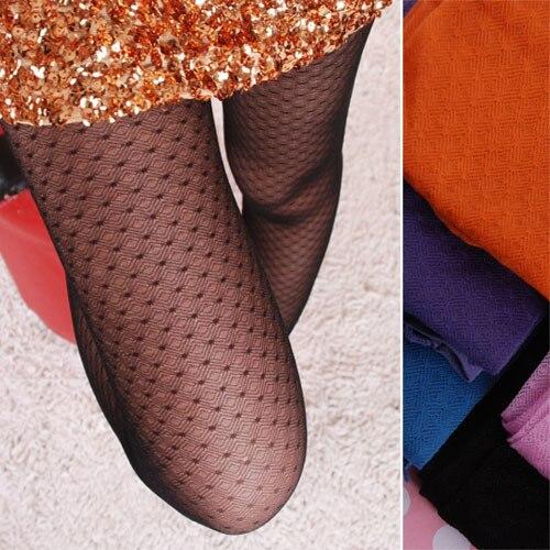 Бесплатная доставка Корейской версии цвет волновой точки анти-крюк шелковые чулки конфеты цвет ромб киберпространстве колготки ребенка mod