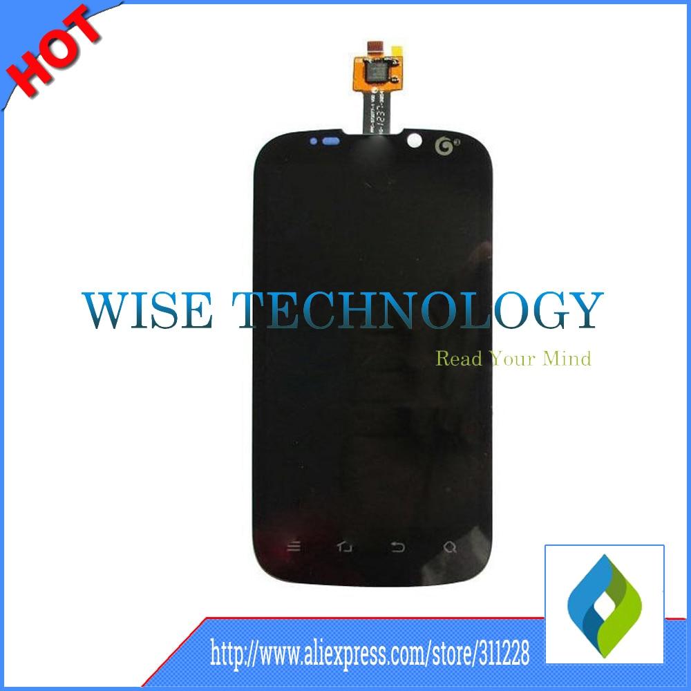 100% original para zte u930 u970 v970 pantalla lcd con pantalla táctil digitaliz