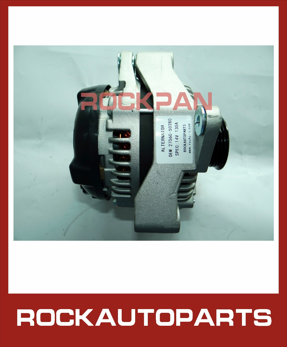 For Lexus Sc 430 Sc430 2005 2006 2007 2008 2009 2010: ROCKAUTOPARTS NEW 12V ALTERNATOR 94789 27060 50280 FOR