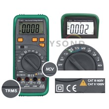 M068 MS8268N PRO TRUE RMS Auto Range AC DC Voltage Current Frequency Resistance Capacity Diode Test Tester Digital Multimeter aimo ms8268n digital multimeter auto range for ac dc voltage current frequency resistance capacity diode test tester