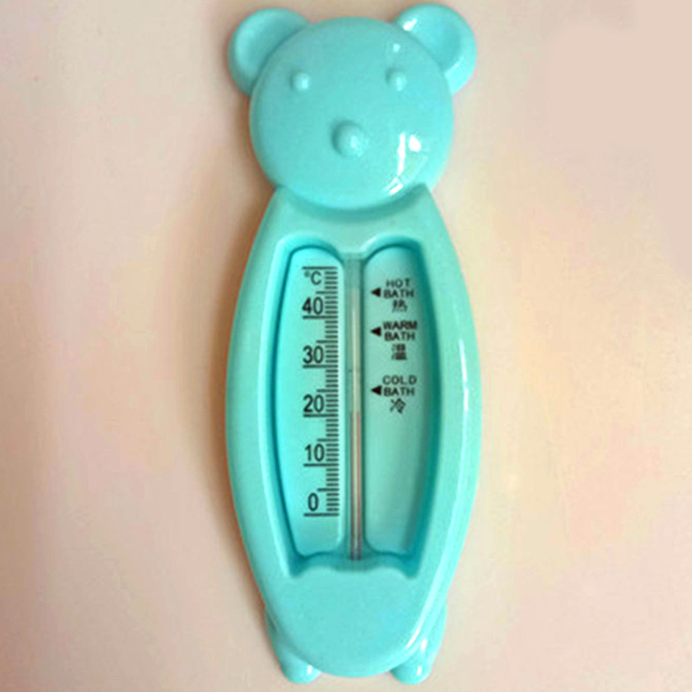 New Floating Bear Baby Kids Bath Room Thermometer Water Temperature Bath Toys