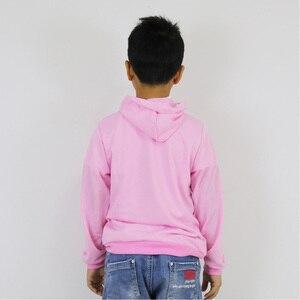 Image 4 - Piłka nożna gwiazda Messi drukowane ubrania dla dzieci dla dzieci zestaw dla dzieci bawełniane bluzy z kapturem spodnie chłopcy dziewczyny na co dzień z kapturem płaszcz spodnie Harem